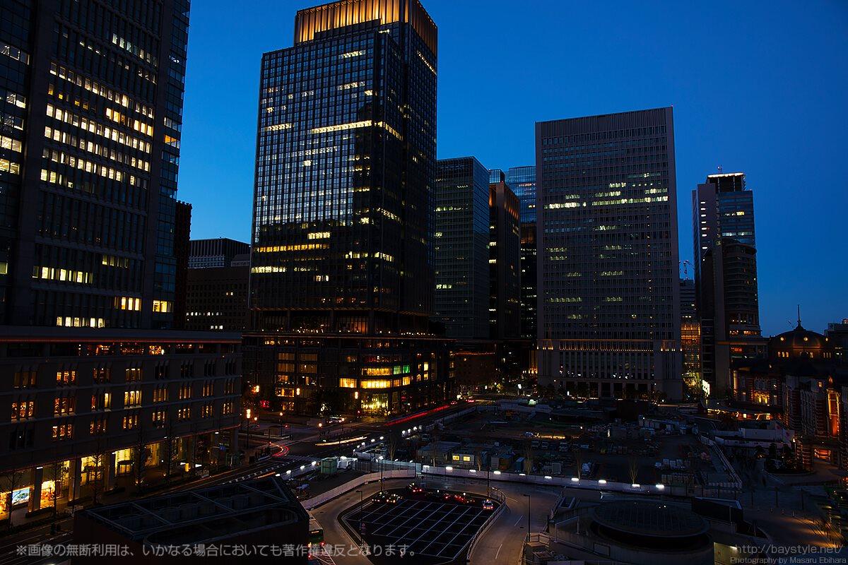 JR東京駅目の前!KITTE 屋上庭園は夜景の魅力満点のトワイライトタイムがデートにおすすめ!