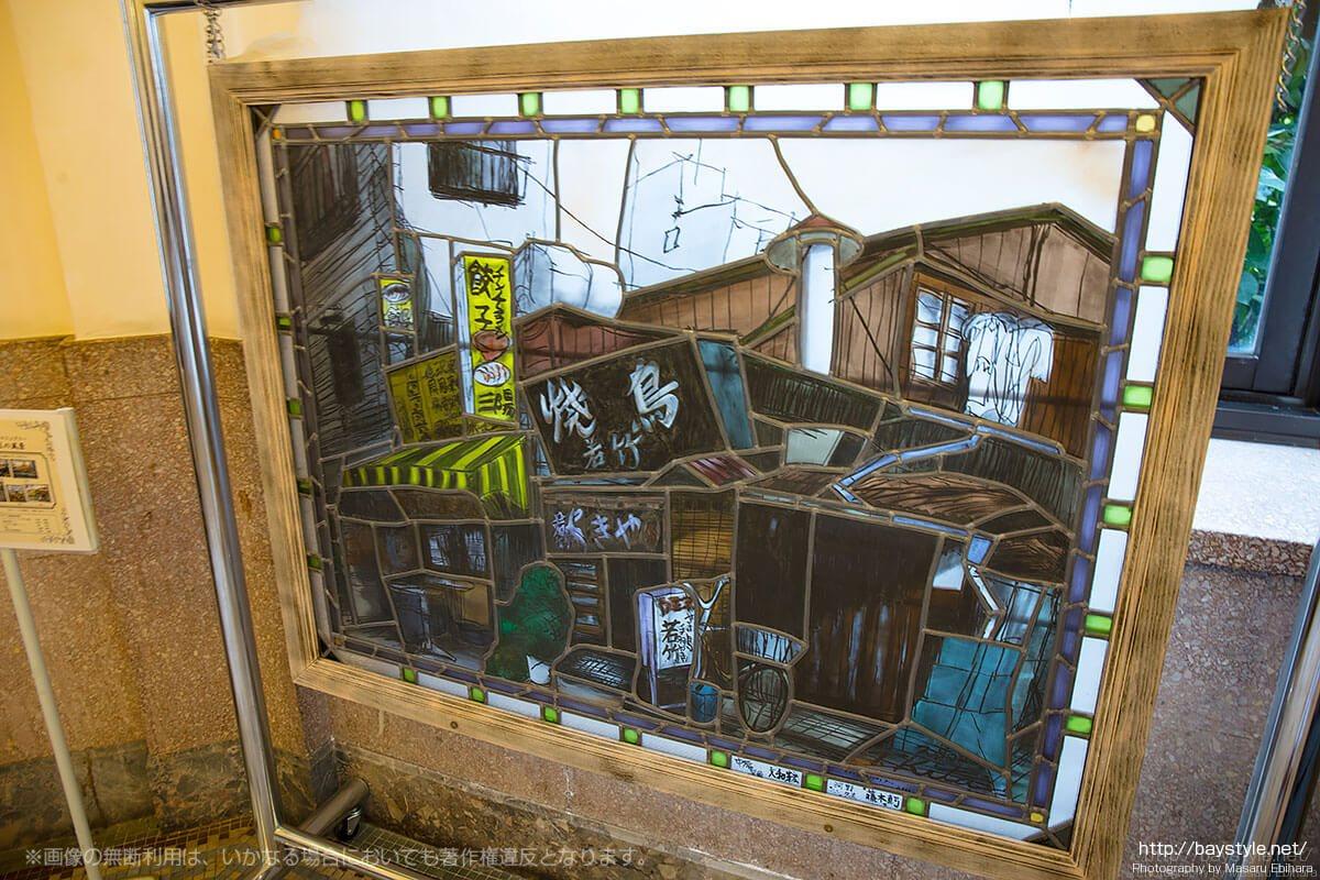 横浜市開港記念会館ステンドグラス創生プロジェクト作品(未来に残したい横浜市中区の風景)