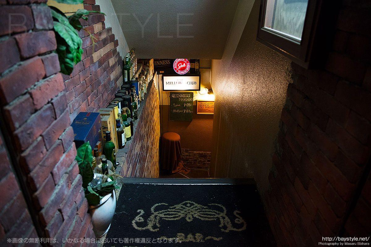 メロウクラブ (Bar Mellow Club)の入り口