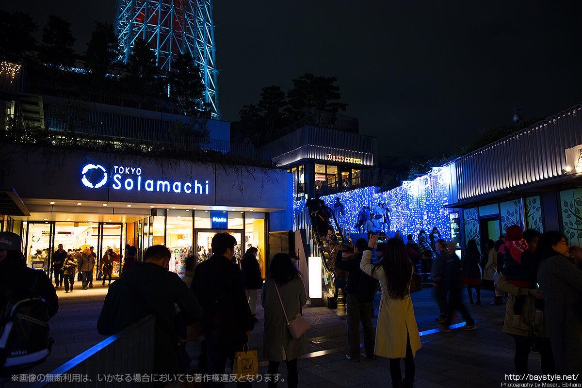 東京スカイツリーの夜景が綺麗なデートにおすすめの時間