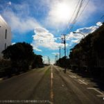 江ノ電和田塚駅から由比ヶ浜海岸まで歩く