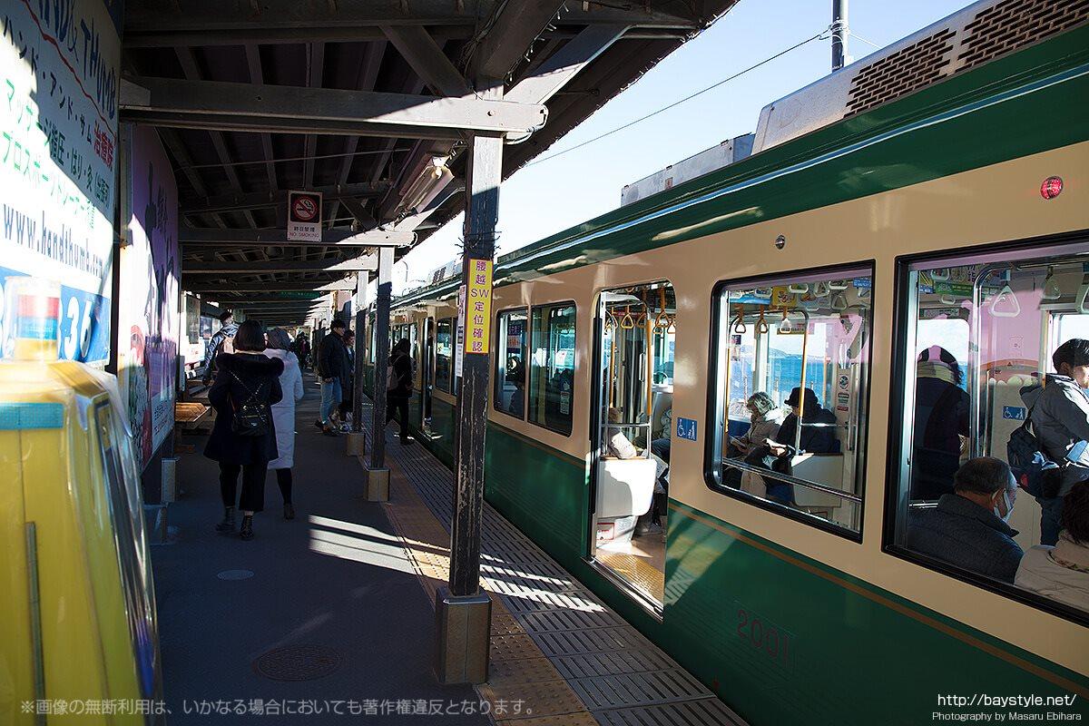 江ノ電の乗降客