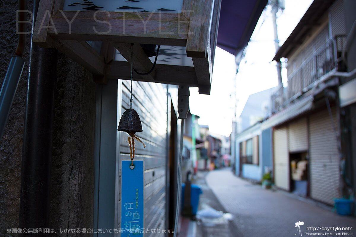 江ノ島灯籠の風鈴