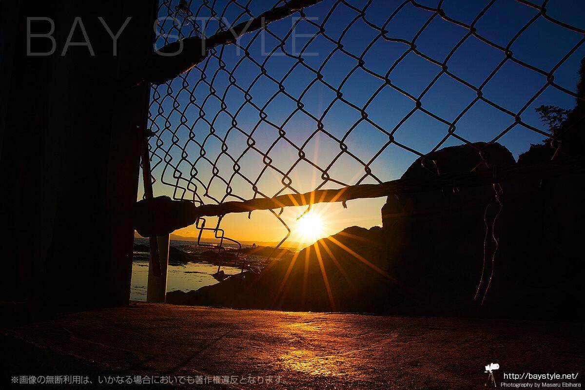 江ノ島の「鳥江ノ島」からの景色