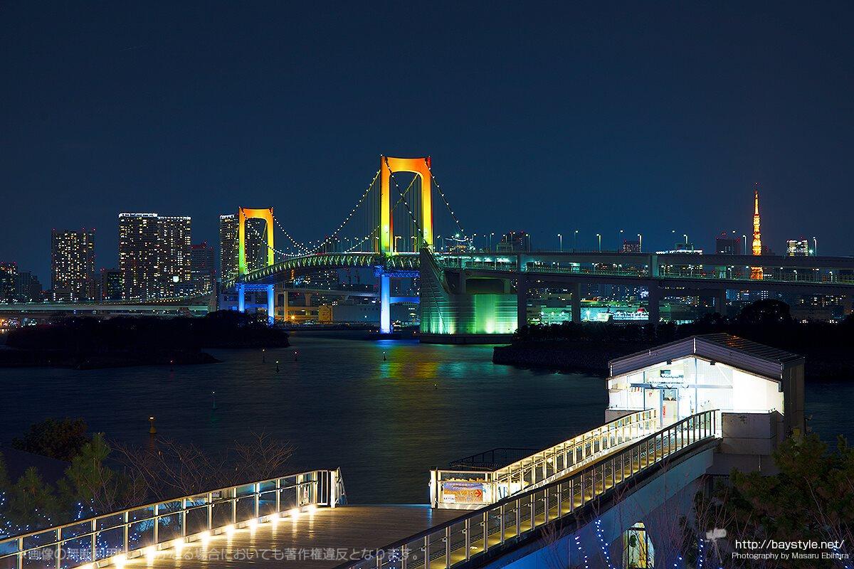 デックス東京ビーチの最寄駅はお台場海浜公園