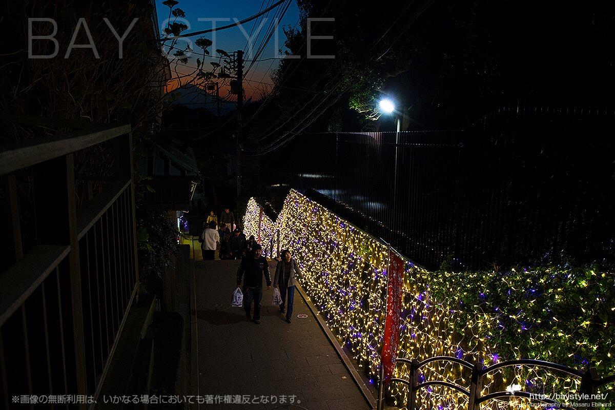 昭和レトロな雰囲気が漂う江ノ島