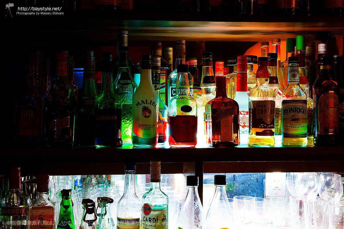 18BARはお酒の種類も豊富
