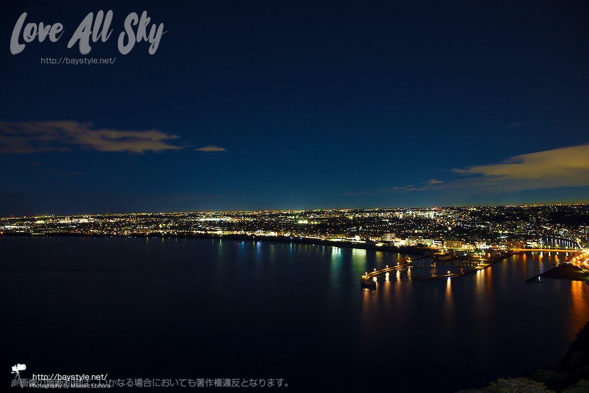 江ノ島展望台からの夜景