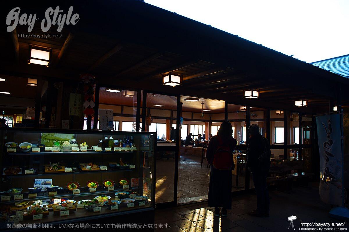 江ノ島の絶景を眺めながらの食事