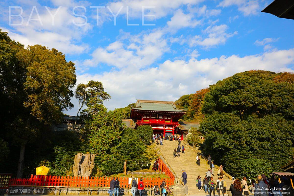 鎌倉で一番のパワースポット、鶴岡八幡宮