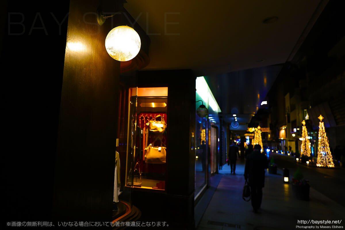 夜の横浜元町