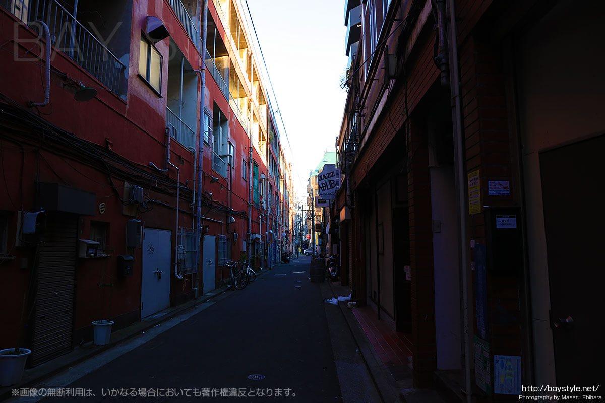 伊勢佐木町界隈の街並み