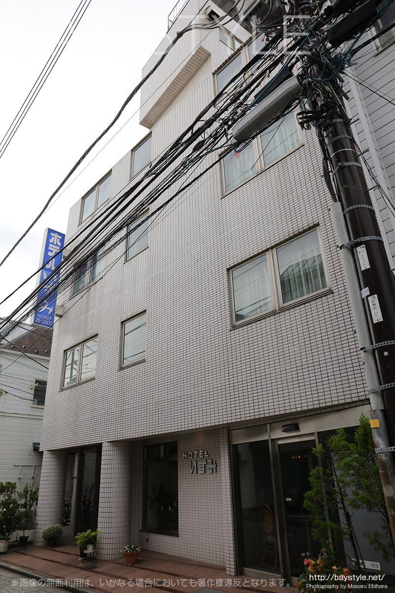 鎌倉ホテルいずみの外観