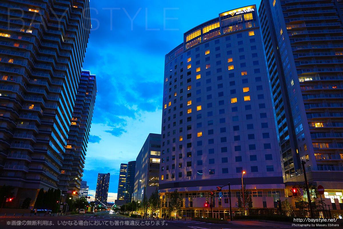 2017年6月30日にオープン当日に撮影したホテルビスタプレミオ横浜