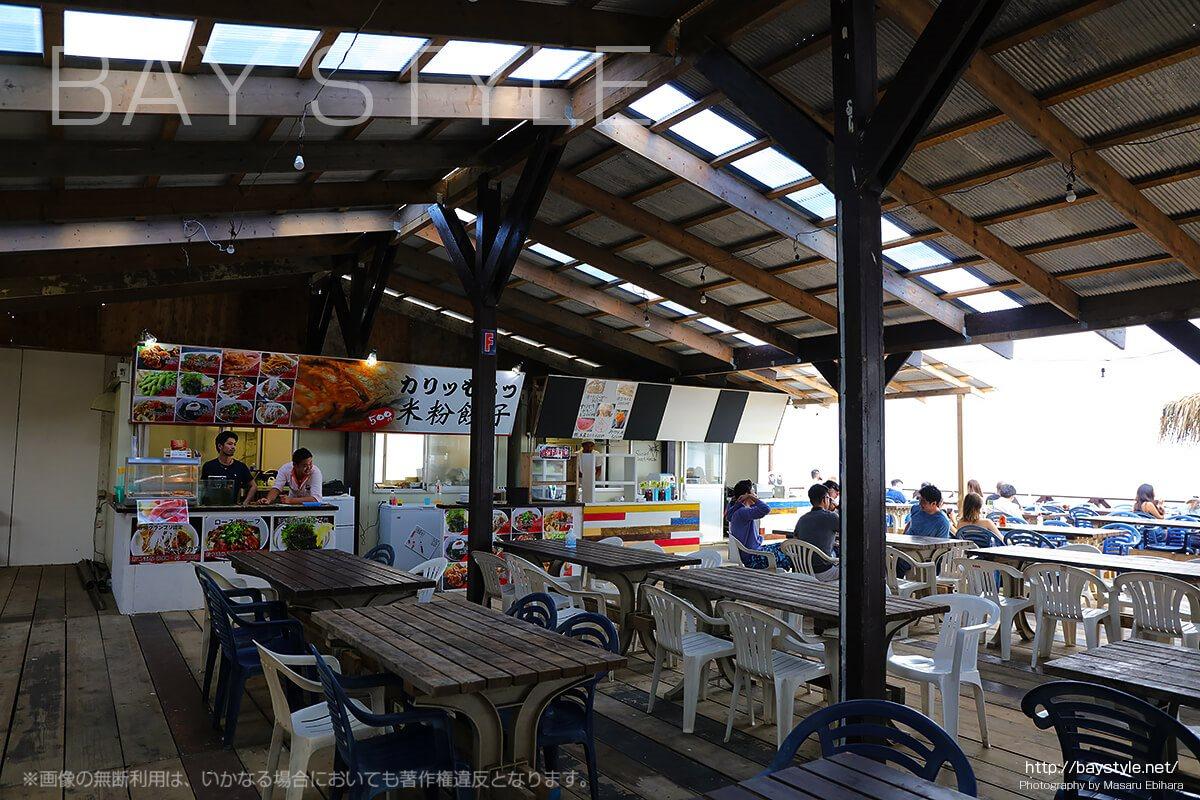 タイ村内の米粉餃子店