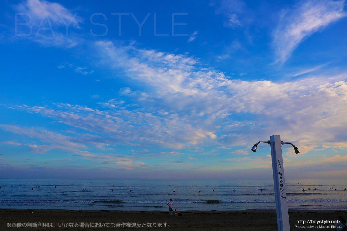 鎌倉由比ヶ浜のビーチにあるシャワー