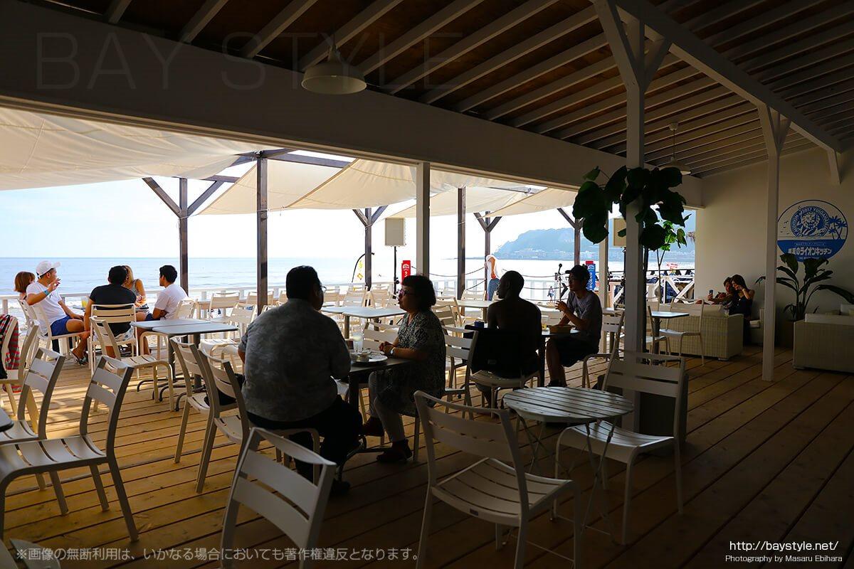 鎌倉の海の家