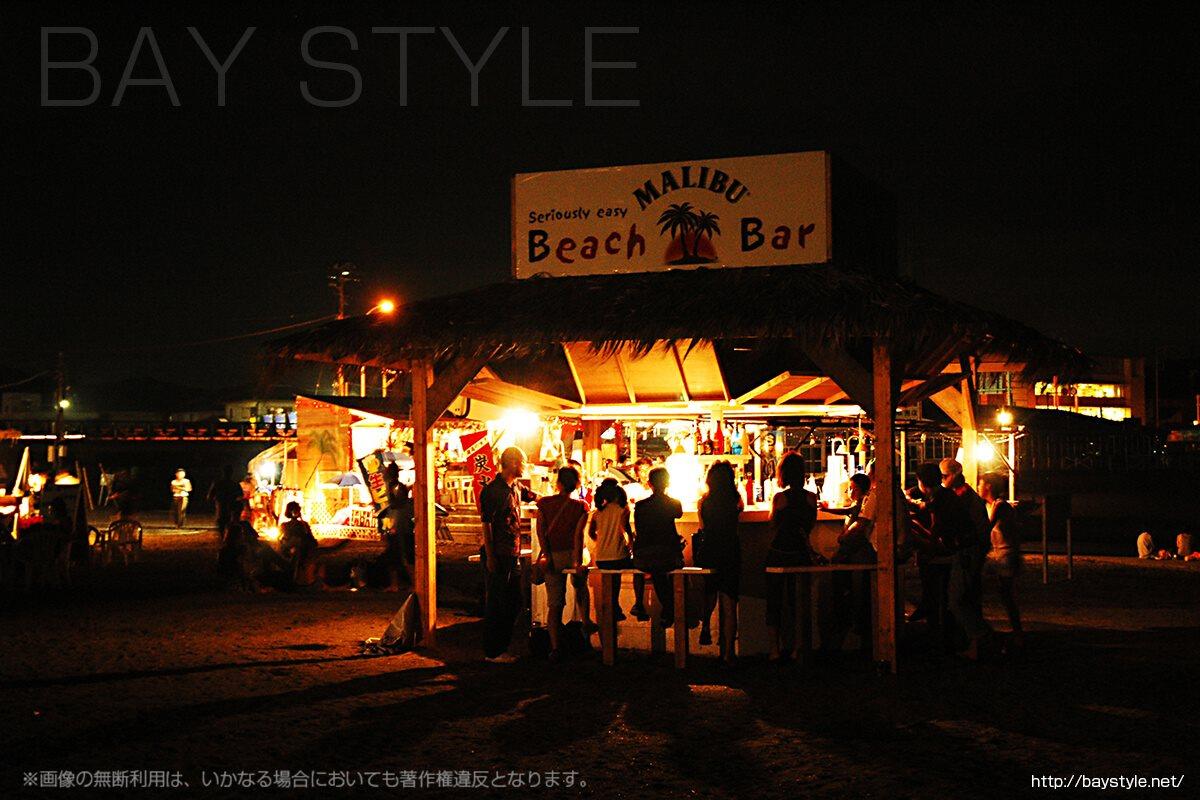 2006年の鎌倉由比ヶ浜マリブバー