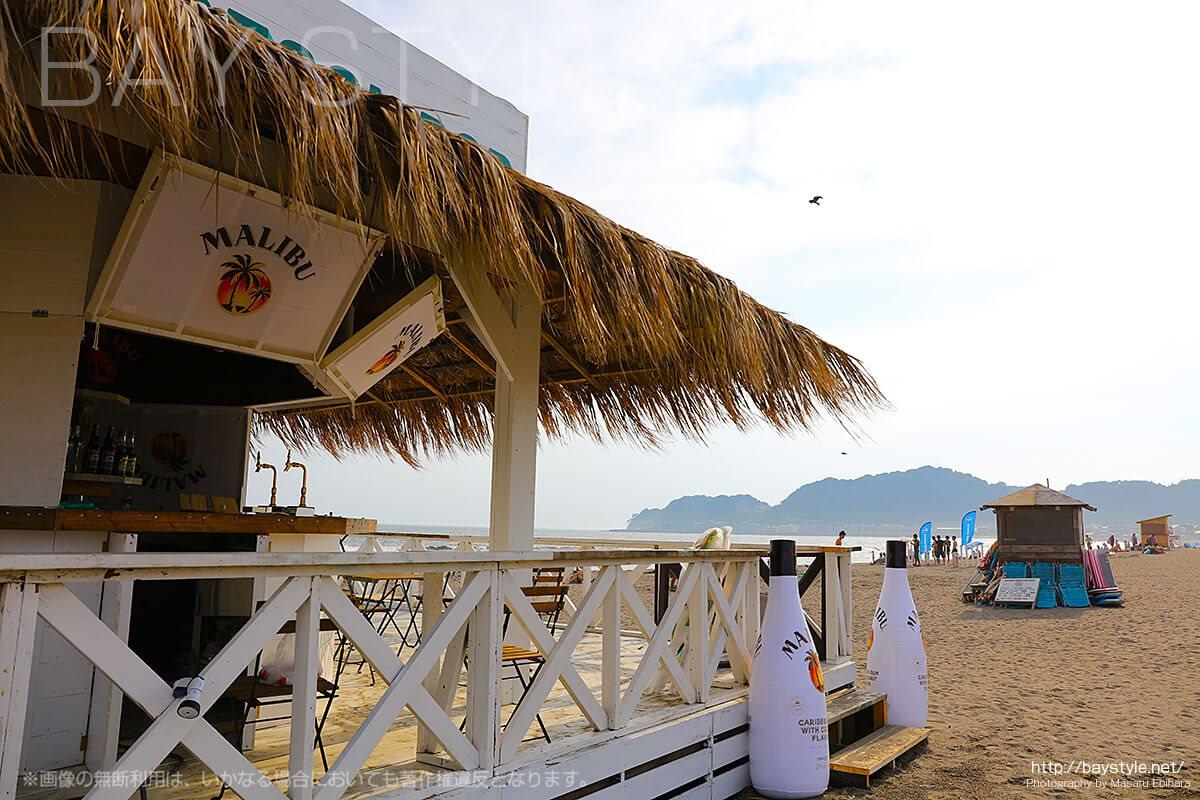 2017年の鎌倉由比ヶ浜マリブバー