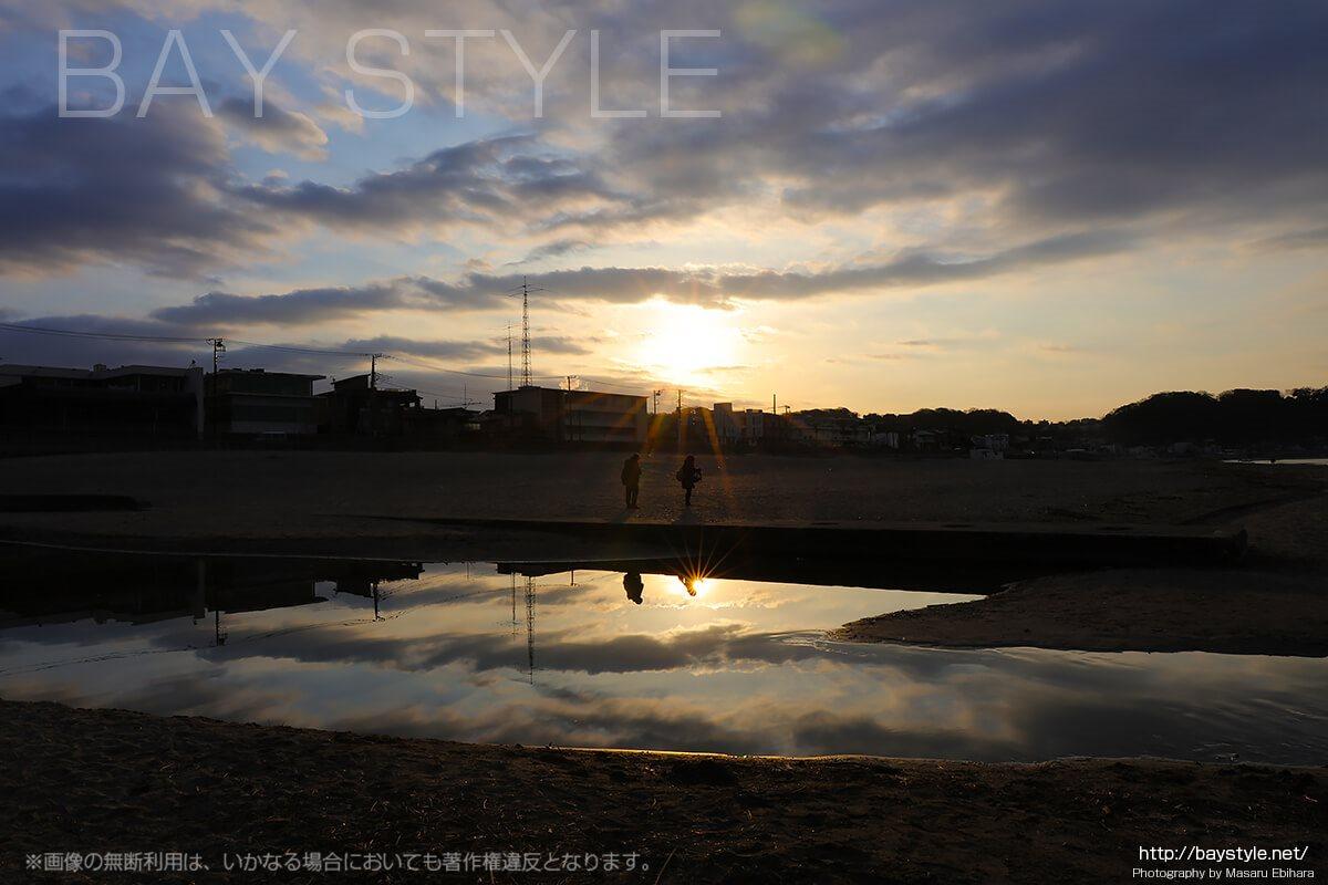 初日の出にもおすすめな鎌倉由比ヶ浜の早朝