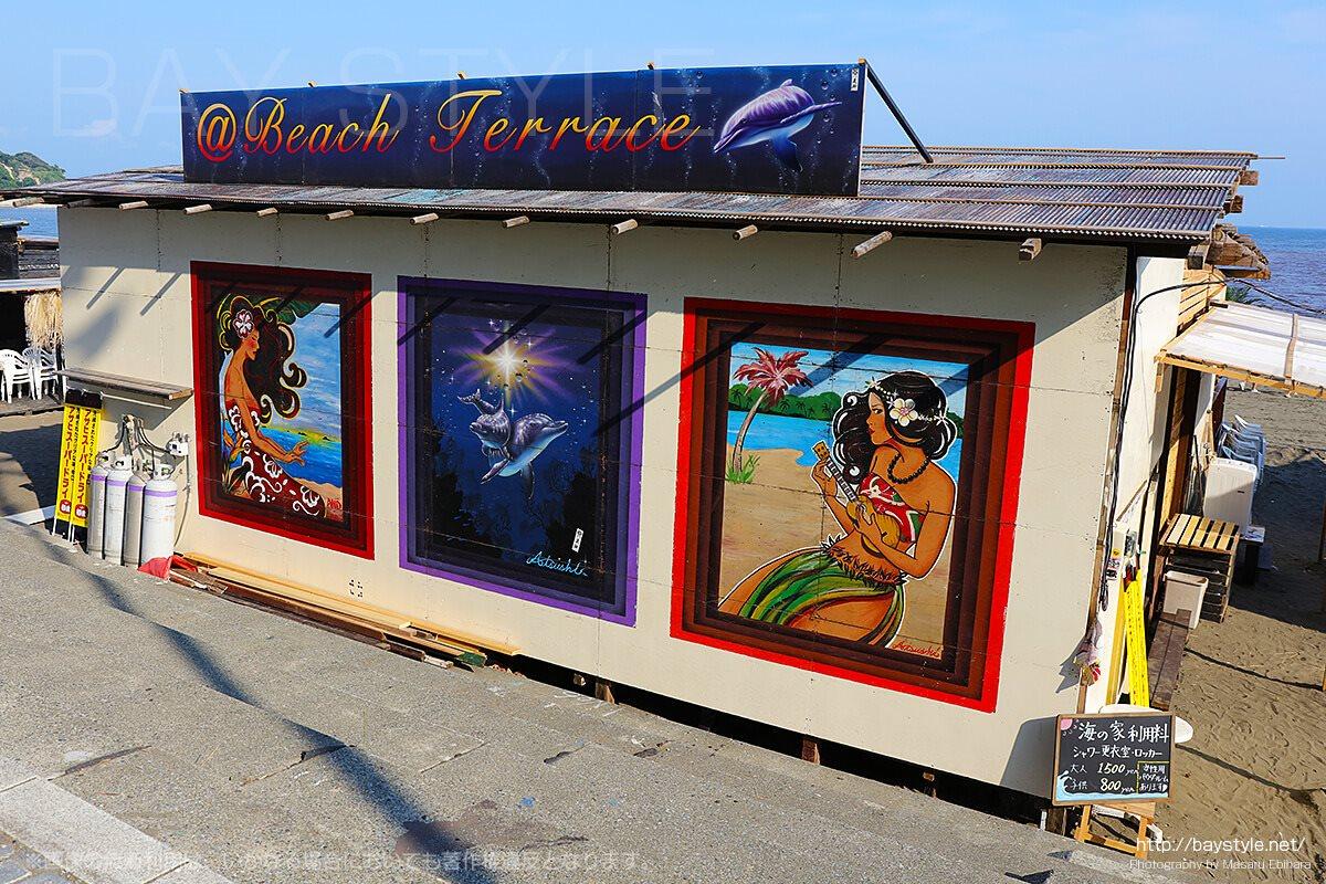 Beach Terace、片瀬東浜海水浴場の海の家