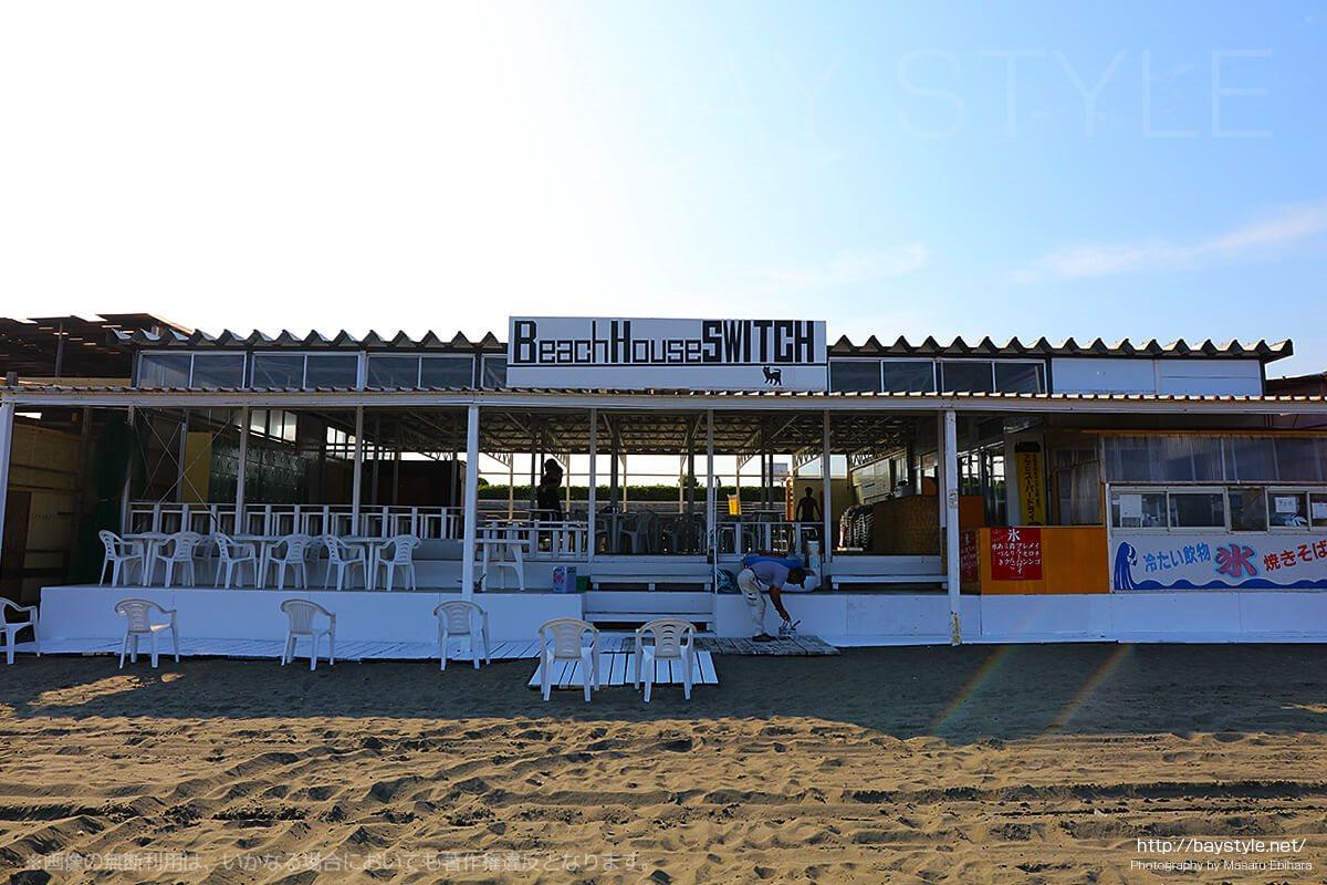 ビーチハウススイッチ、江ノ島東浜の海の家