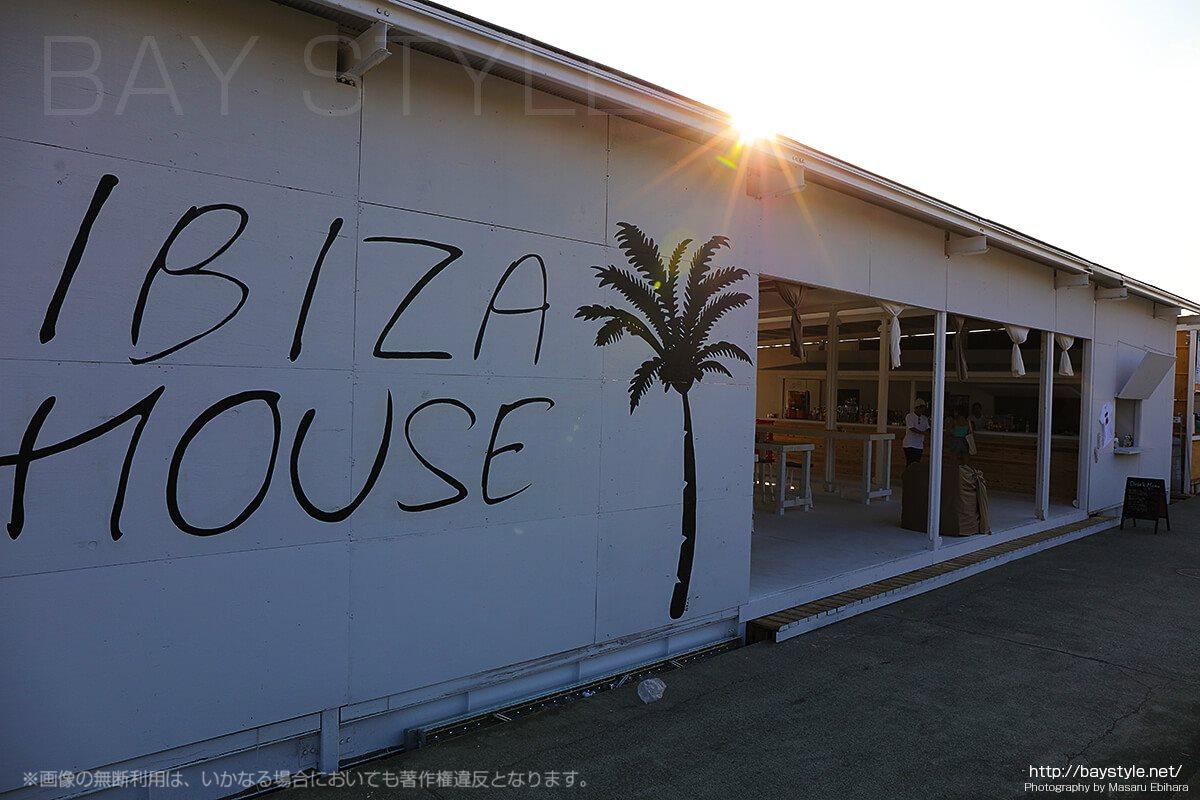 片瀬西浜海水浴場のおしゃれな海の家「IBIZA HOUSE」
