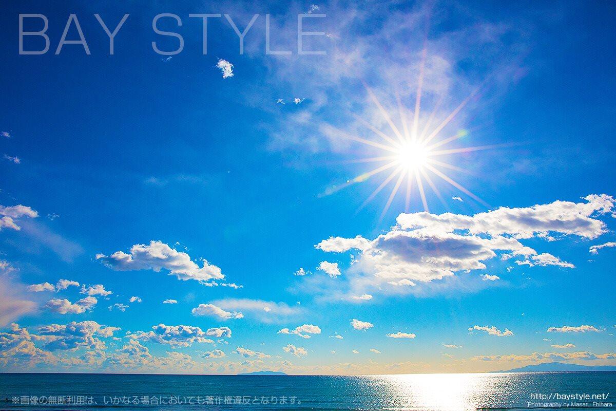 鎌倉由比ヶ浜の昼間の姿