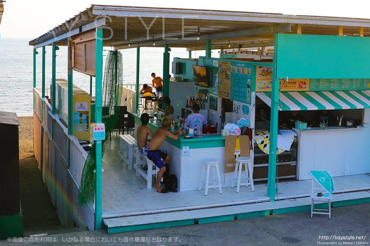 "BEACH HOUSE ""A""(ビーチハウスA)、江ノ島西浜海の家"