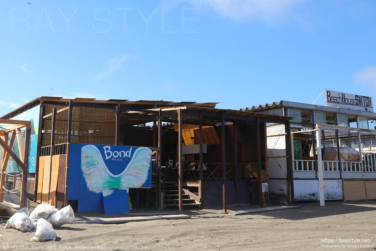 Bond、片瀬東浜海水浴場の海の家
