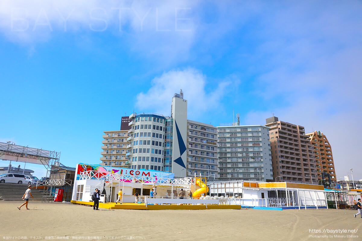 片瀬東浜海水浴場の海の家