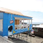 ワンピース、片瀬東浜海水浴場のカフェバー