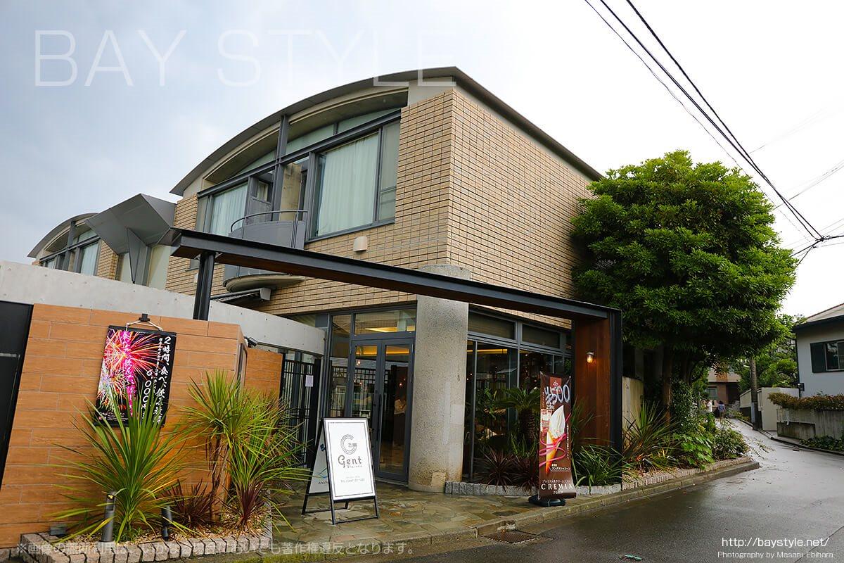 鎌倉WeBaseに隣接するフレンチレストランgent