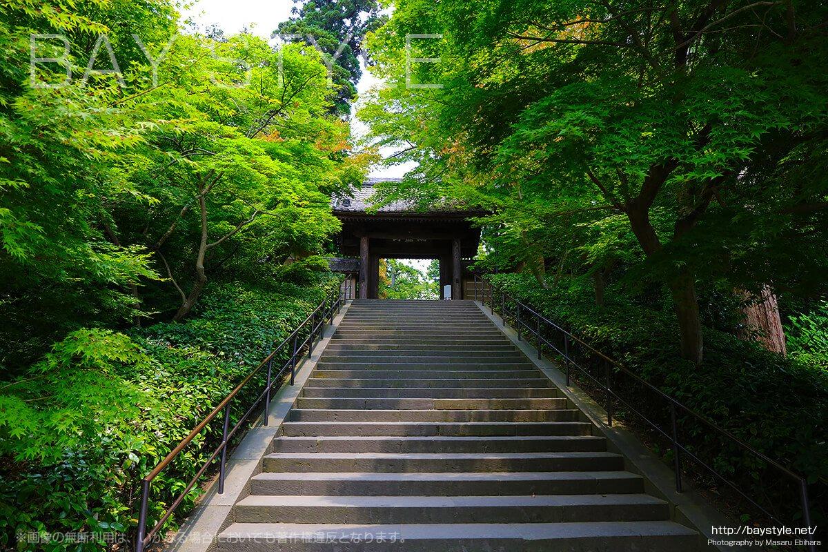 円覚寺の入り口