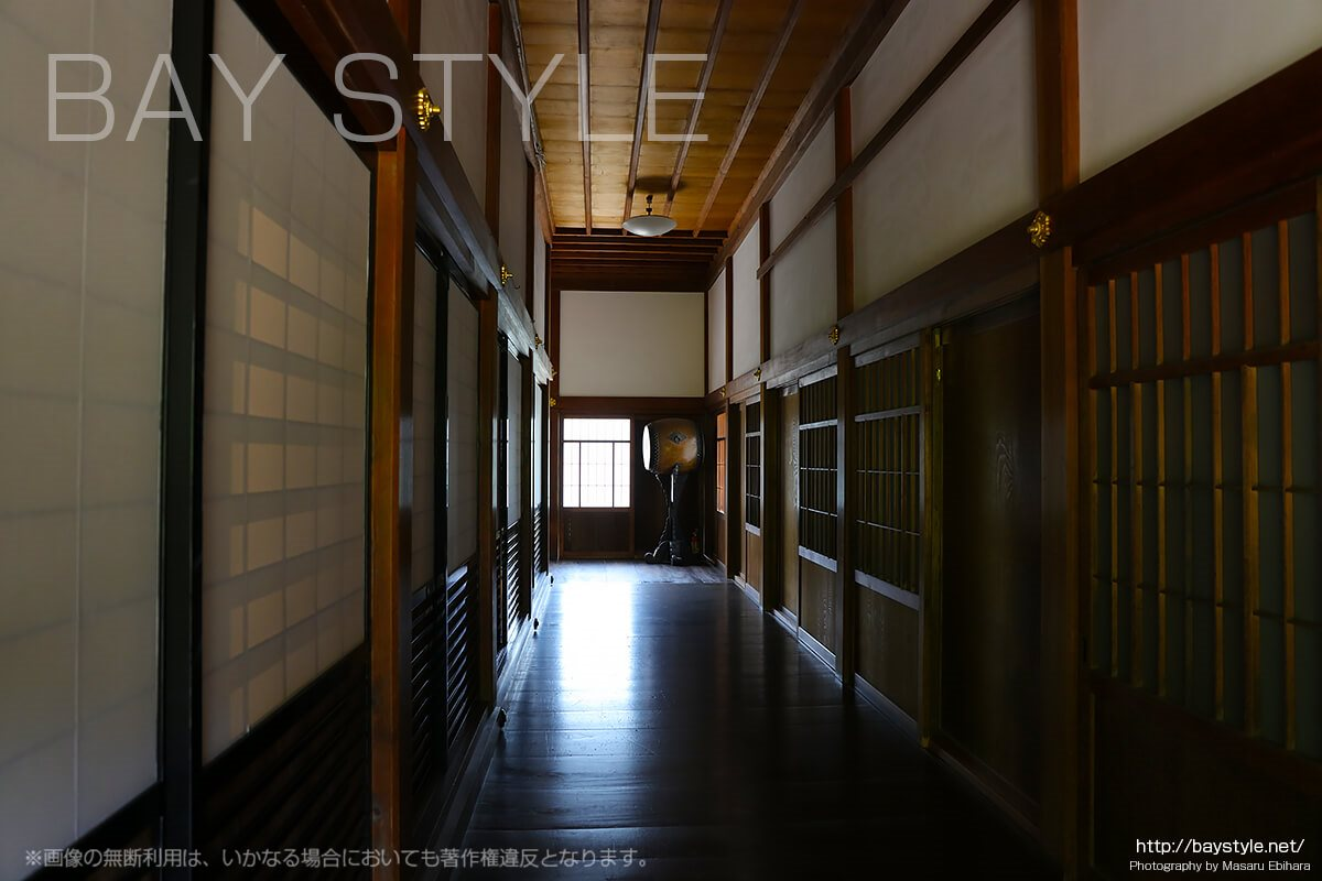 大方丈内部の廊下