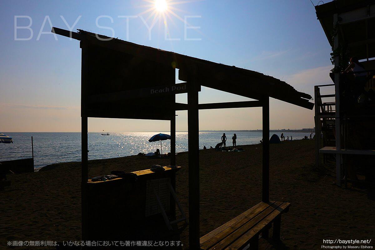 「HounD(ハウンド)」からのビーチの眺め