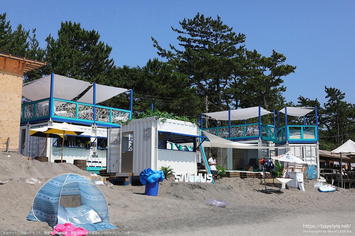 THE SAIL HUS(ザ セイル ハウス)、葉山一色海水浴場の海の家