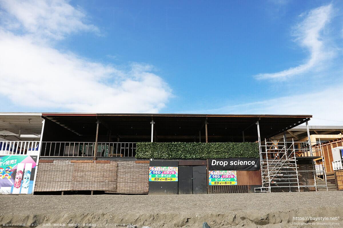 琉球ガーデン、片瀬西浜海水浴場の海の家