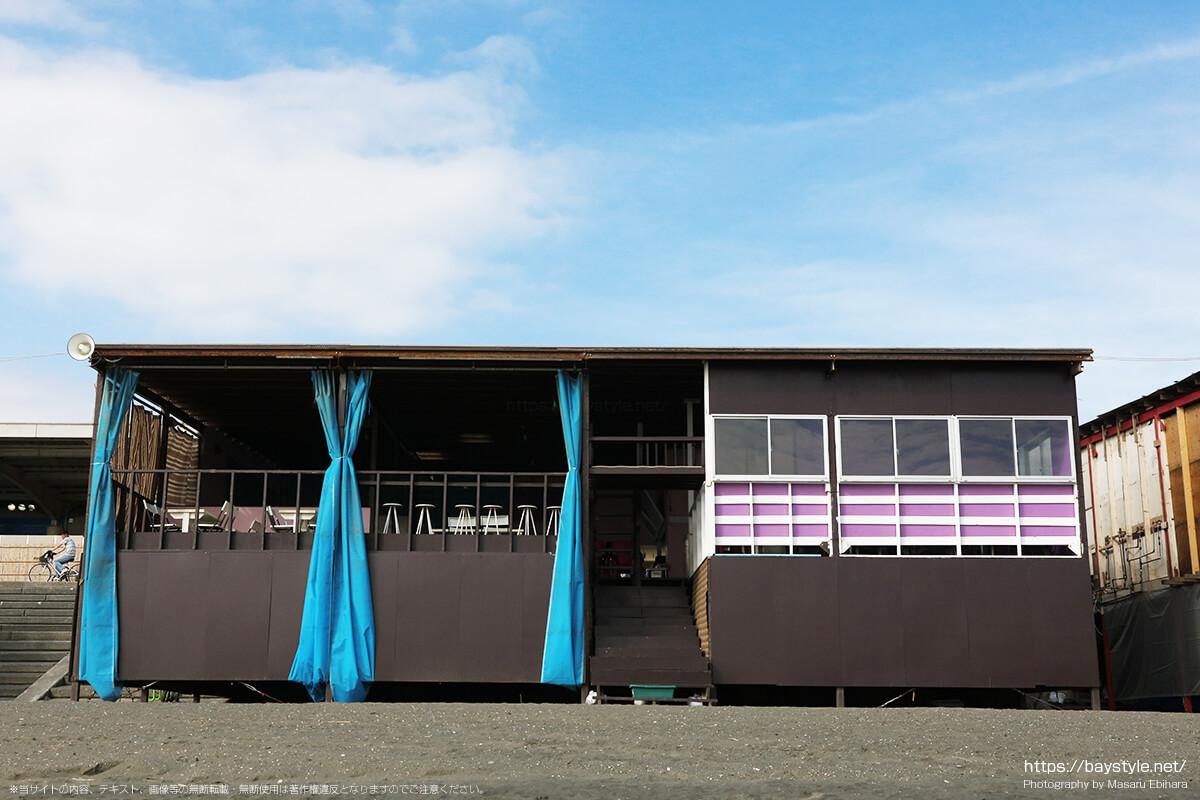 LAWALAWA(ラワラワ)、片瀬西浜海水浴場の海の家