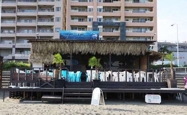 Beach Terace(ビーチテラス)、片瀬東浜海水浴場の海の家