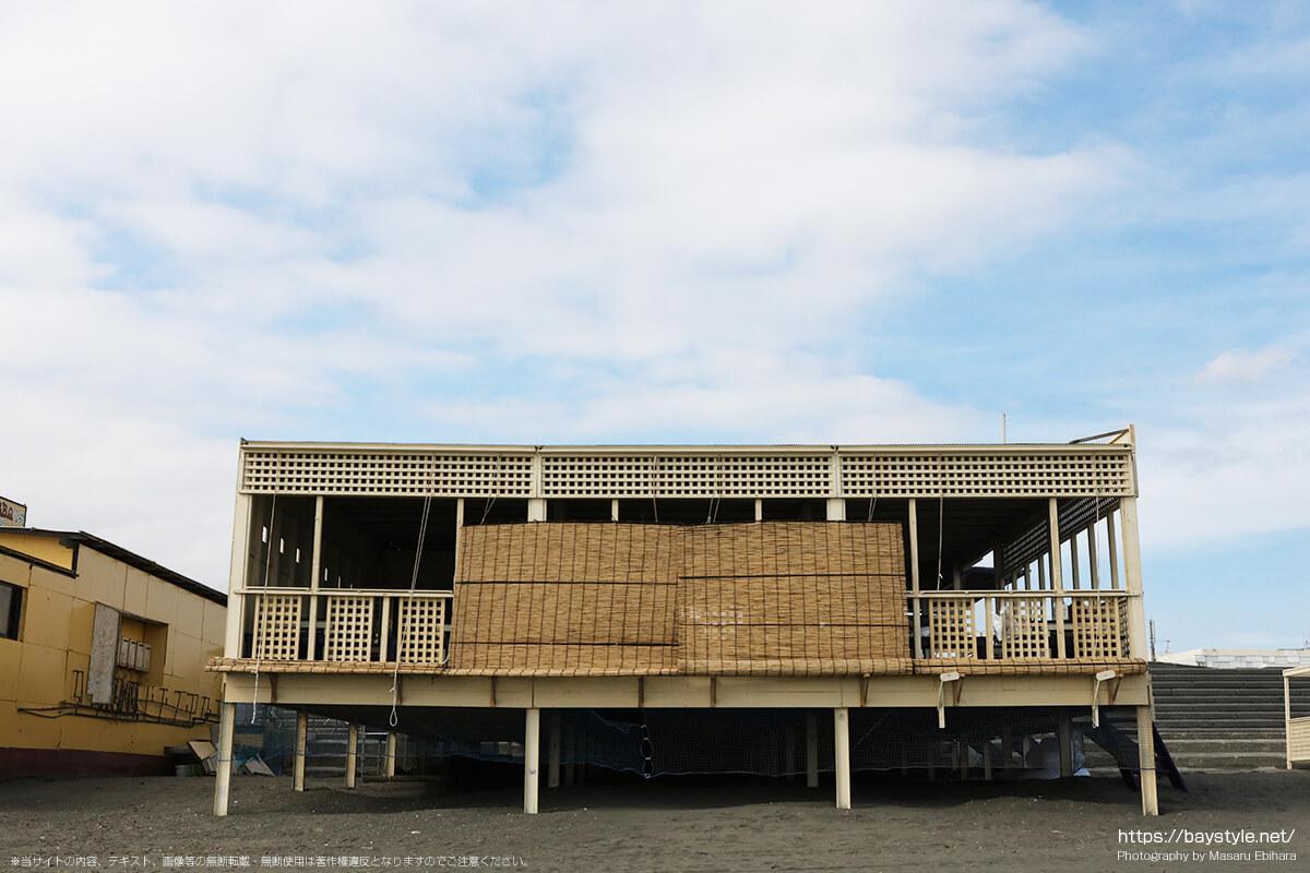 くまざわや、鵠沼海水浴場の海の家