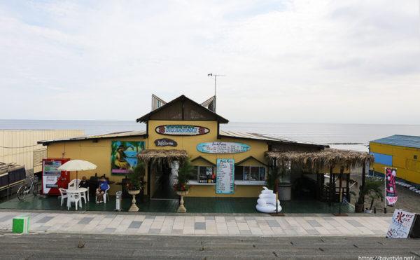 白砂2はポニーがいる鵠沼海水浴場の海の家