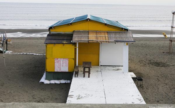 食堂シャインウェーブ、鵠沼海水浴場の海の家