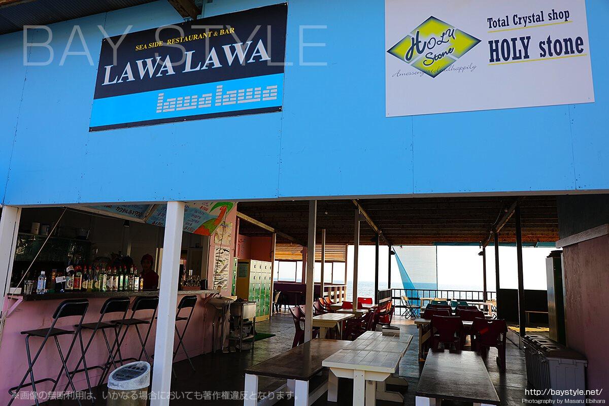 LAWALAWA(ラワラワ)、江ノ島西浜海の家