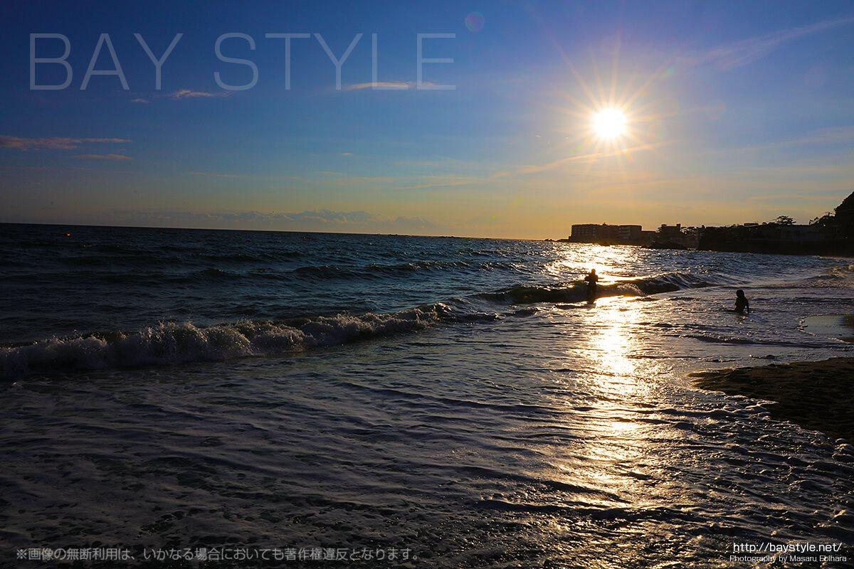 一色海水浴場海の家「S-PLUS(Splus+)」目の前のビーチ