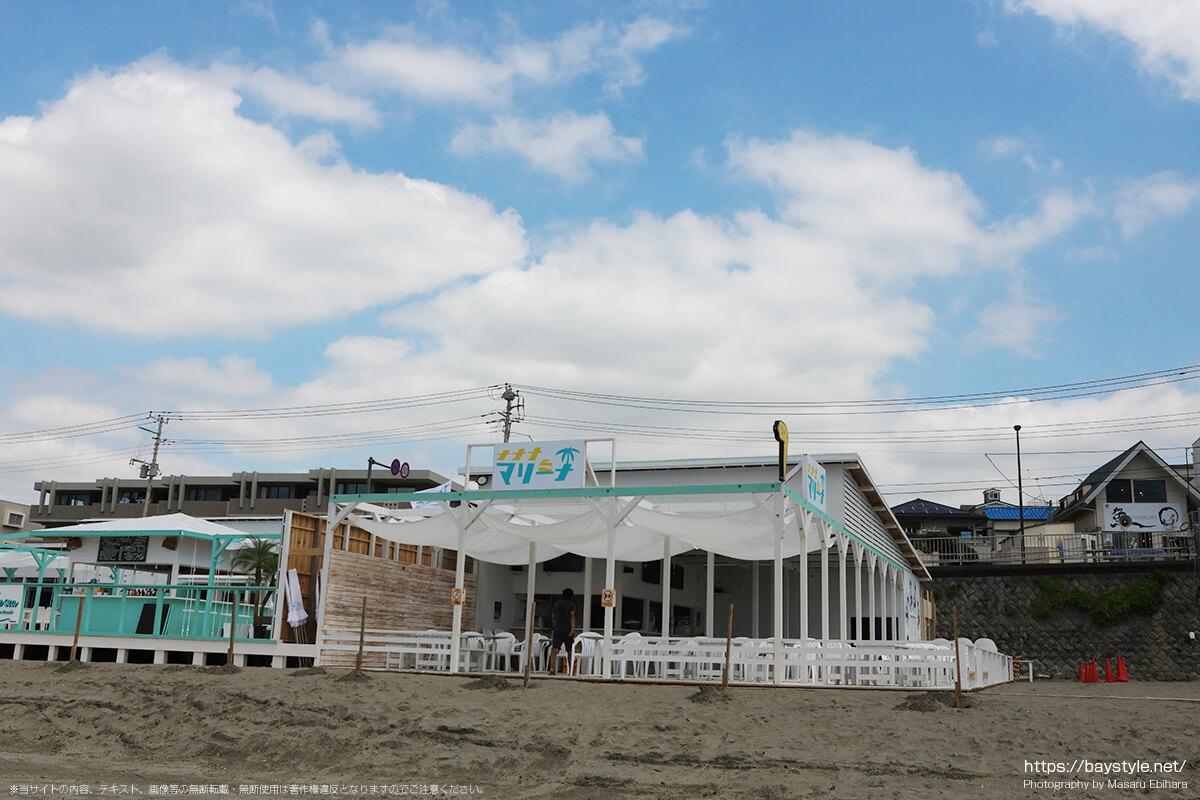 テレビ東京ナナナマリーナ、鎌倉由比ヶ浜海の家