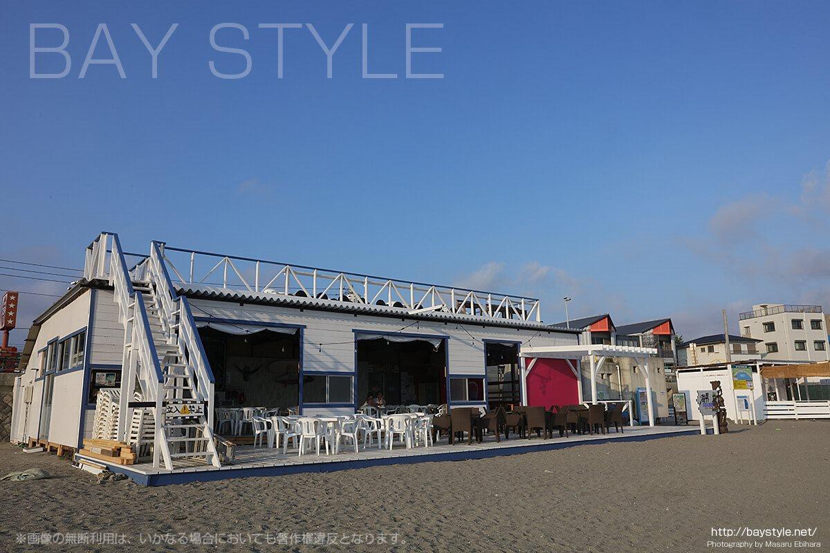 海男(SEA MAN)、逗子海水浴場の海の家