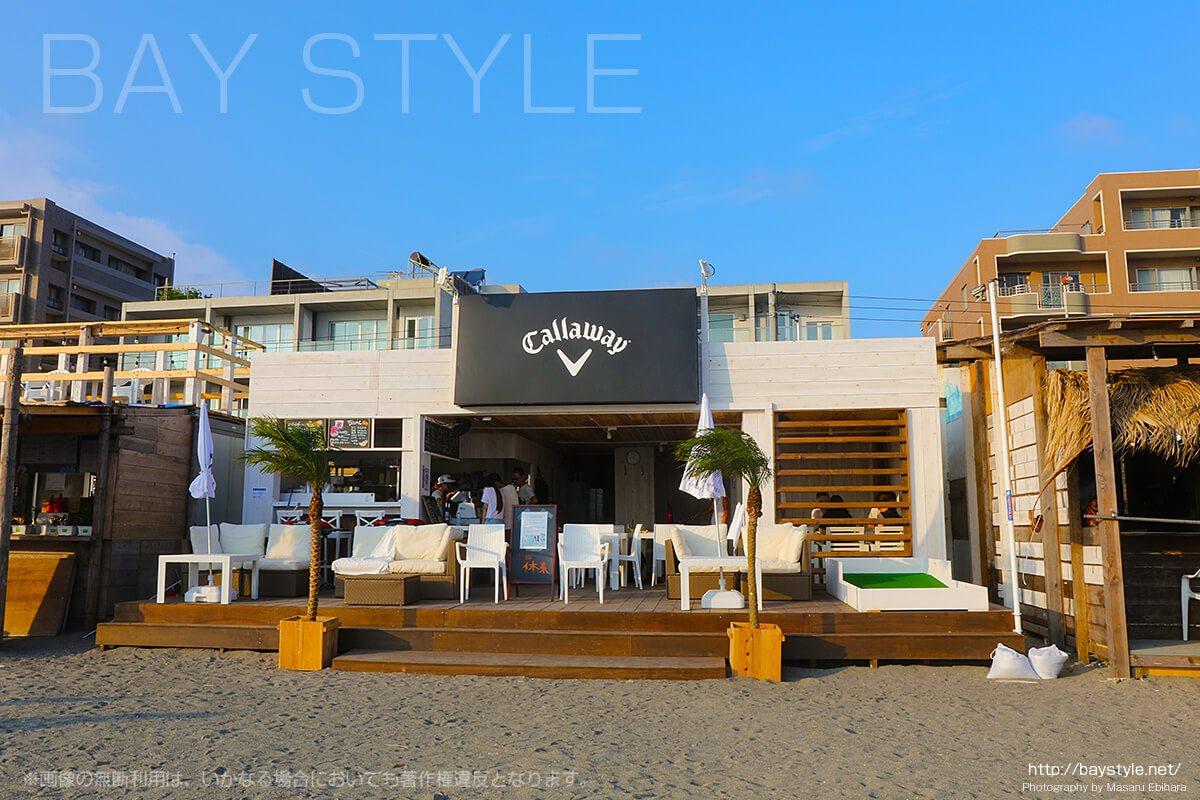 Callaway、逗子海水浴場の海の家