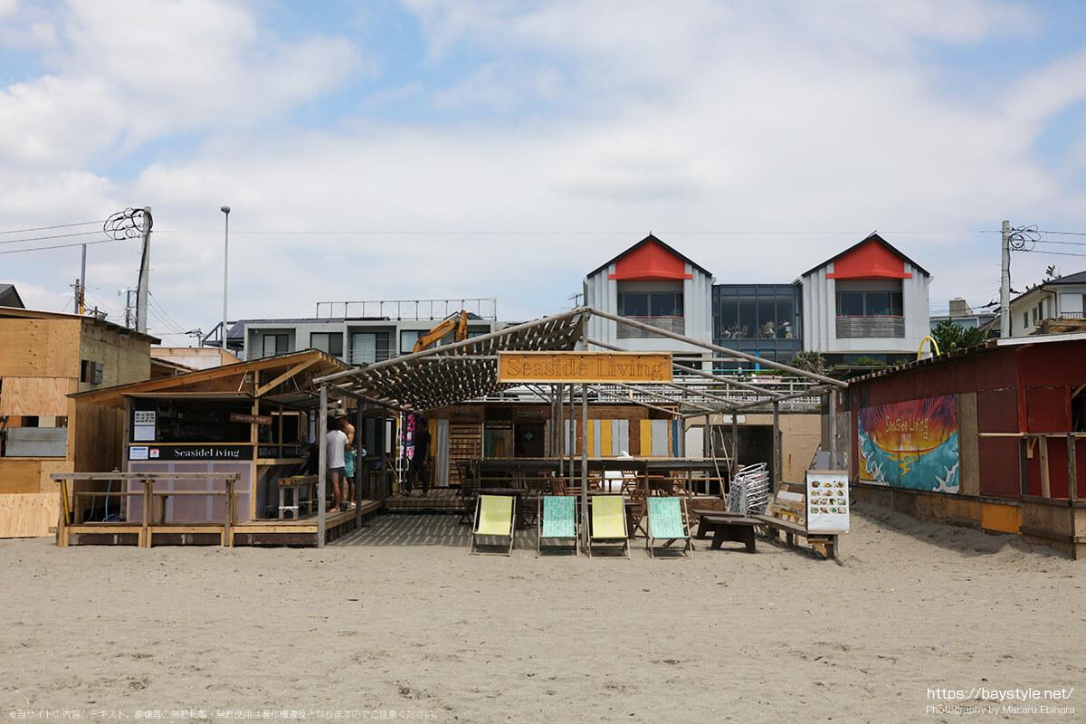 Sea Side Living(シーサイドリビング)、逗子海水浴場の海の家