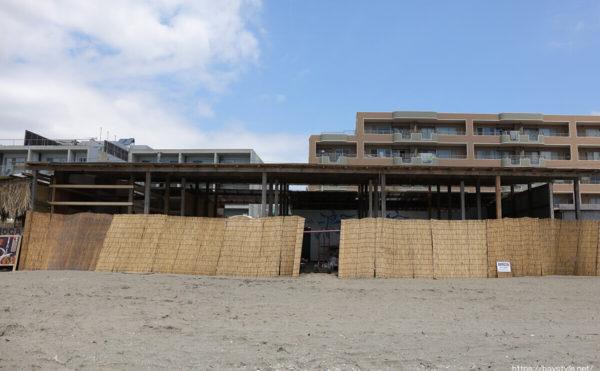 浪子亭(なみこてい)、逗子海水浴場の海の家